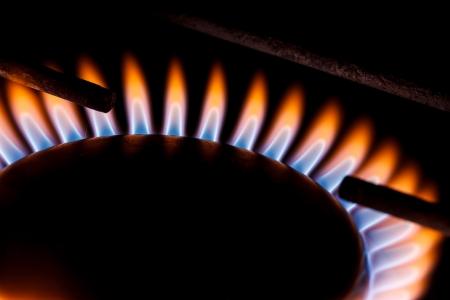 gas flame Stock Photo - 25129653
