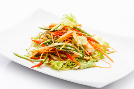 asian salad photo