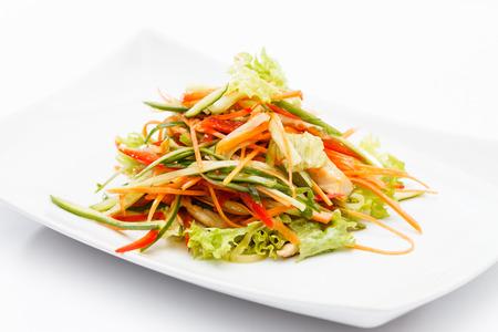asian salad Stock Photo