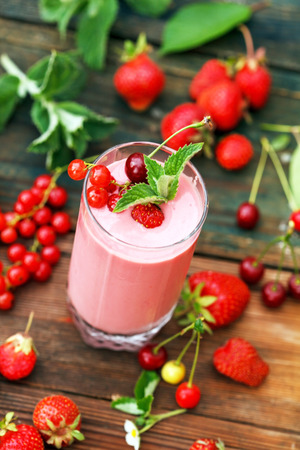 berry smoothie: Berry smoothie