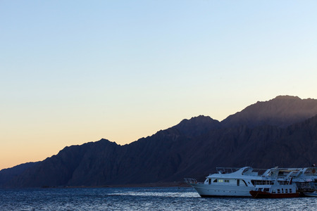 dahab: Red Sea and mountain in Dahab