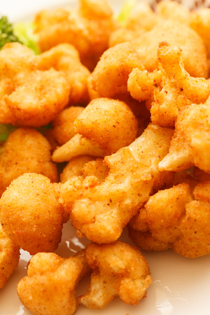 fried cauliflower photo
