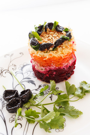 salad with beetroot photo