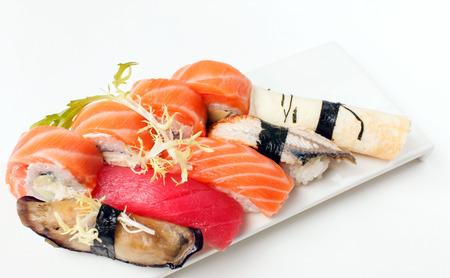 philadelphia roll: tasty sushi Stock Photo