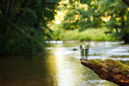 Clean water (healthy concept) Reklamní fotografie