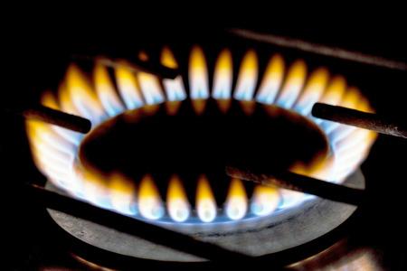 gas flame Stock Photo - 26977027