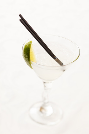 cocktail with lime photo