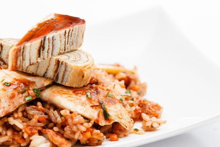 seafood rice photo