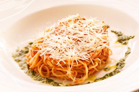 Spaghetti Bolognese Archivio Fotografico - 29023996
