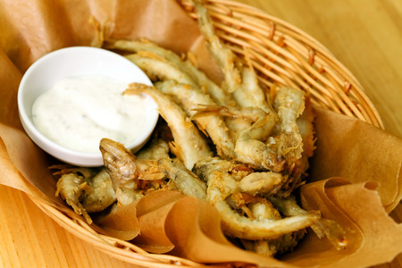 bluefish: fried fish with beer