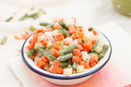frozen vegetables photo