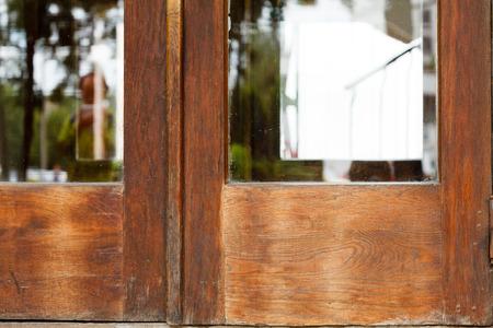 tree service pictures: old door