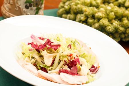 salad with chicken photo