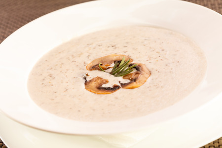 mushroom cream soup photo