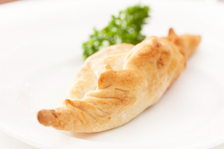 pasty: pasty with meat