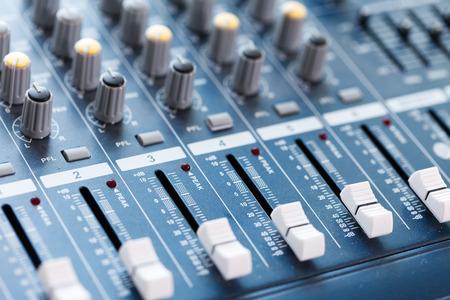 Music Studio Stockfoto