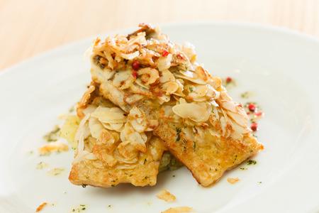 fish with potatoes photo
