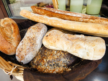 pumpernickel: fresh bread