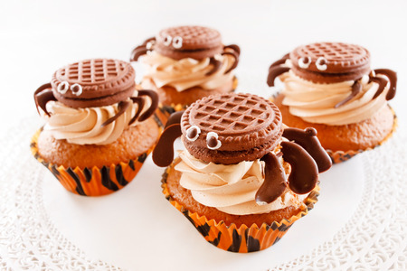 chocolate muffins Stock fotó