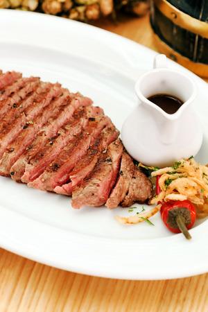 steak in the bar photo
