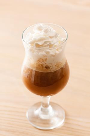 coffee with cream photo