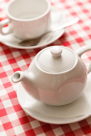 tea in the teapot photo
