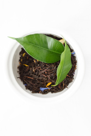 black tea: Black tea Stock Photo