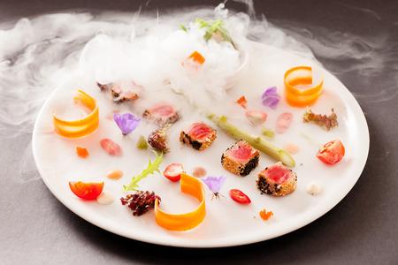 Molecular dish Stockfoto