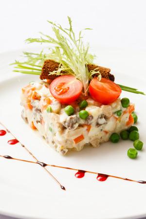 Russian salad photo