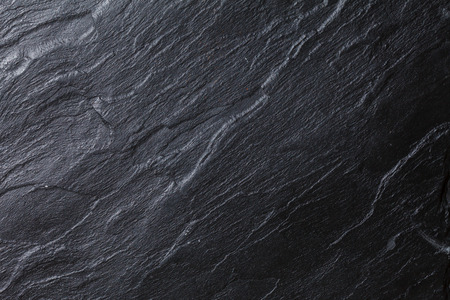 black granite: black stone background