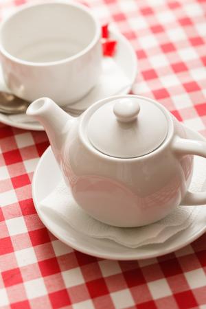 teaparty: tea in the teapot