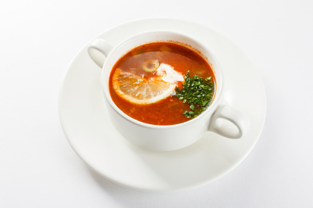 solyanka: Soup solyanka