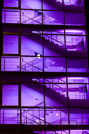 sky scraper: modern office