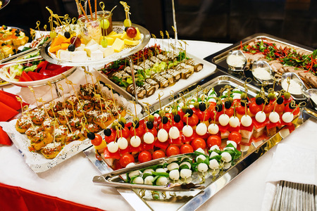 christmas party: tasty appetizer