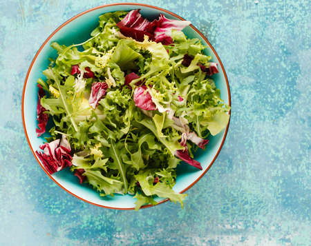 Fresh green salad Stok Fotoğraf - 35227574