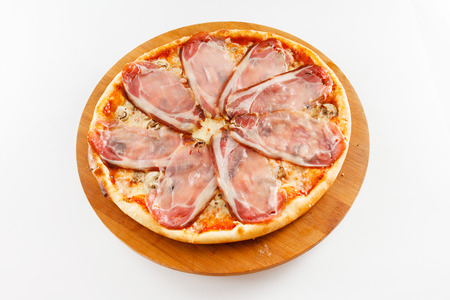wit: pizza wit bacon