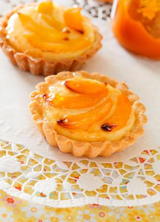 tart: apricot tart