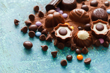 easter cookie: chocolate sweets