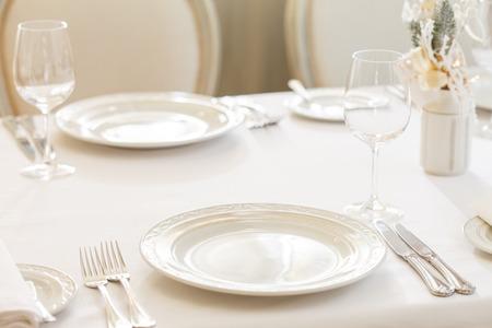 Mesas de comida Foto de archivo - 35448281