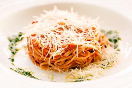 Spaghetti Bolognese Archivio Fotografico - 35847439