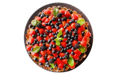 tart: fruit tart