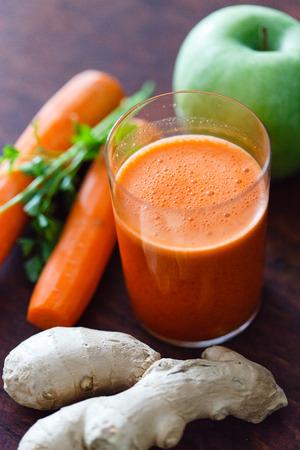 carrot: licuado saludable
