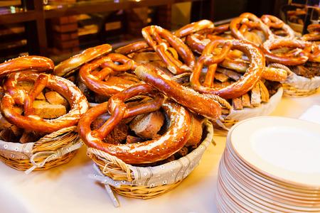 traditonal: bavarian pretzels