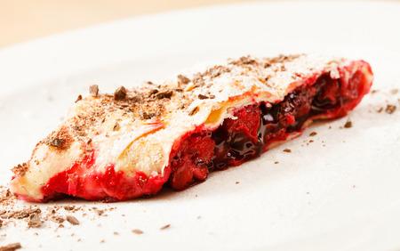 strudel: cherry strudel