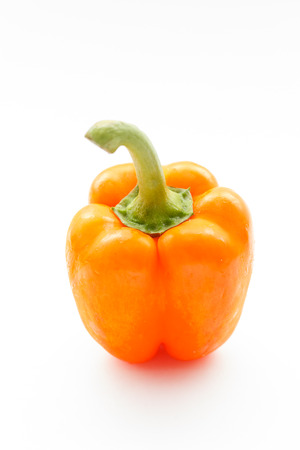 bell pepper: fresh bell pepper Stock Photo