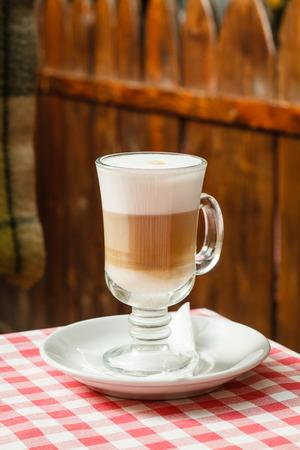 coffee macchiato photo
