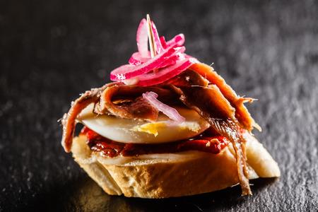 fine cuisine: tapas Stock Photo