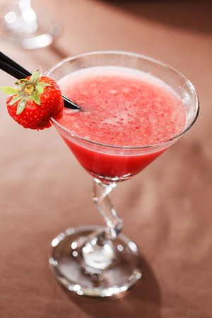 strawberry: strawberry cocktail