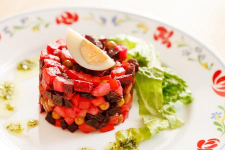 betabel: ensalada de remolacha