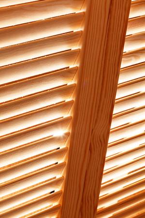 blinds: wood blinds